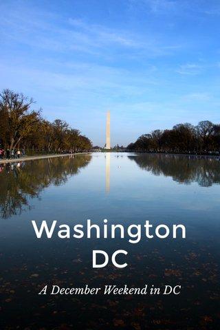 Washington DC A December Weekend in DC