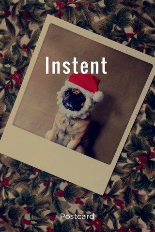 Instent Postcard