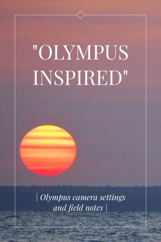 """OLYMPUSINSPIRED"" 