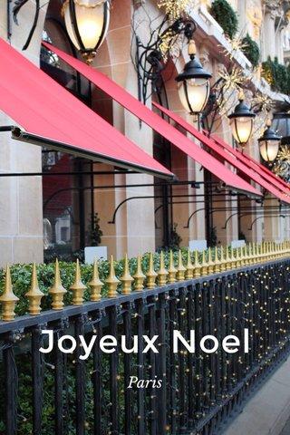 Joyeux Noel Paris