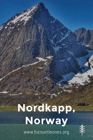 Nordkapp, Norway www.hicsuntleones.org
