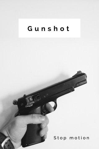 Gunshot Stop motion