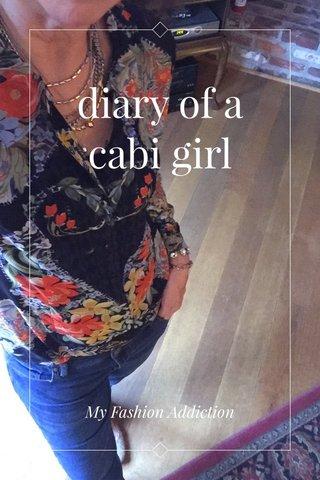 diary of a cabi girl My Fashion Addiction