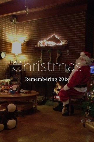 Christmas Remembering 201x