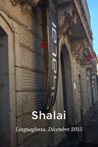 Shalai Linguaglossa. Dicembre 2015