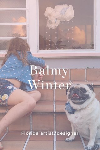 Balmy Winter Florida artist/designer