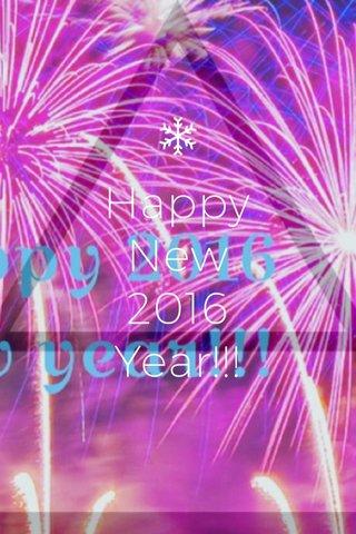 Happy New 2016 Year!!!