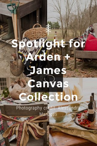 Spotlight for Arden + James Canvas Collection Photography credit: Alessandra Manzotti