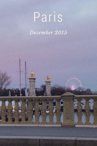 Paris December 2015