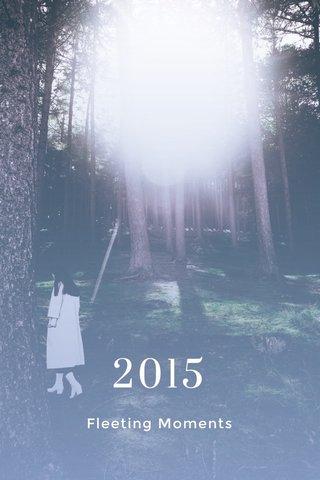 2015 Fleeting Moments