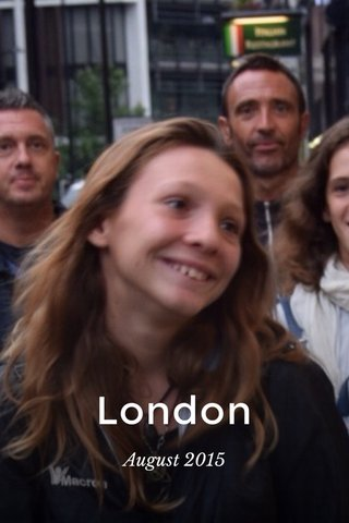 London August 2015