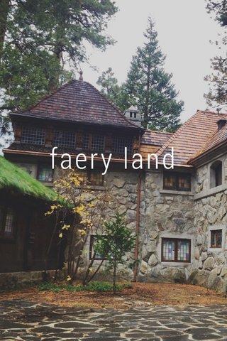 faery land