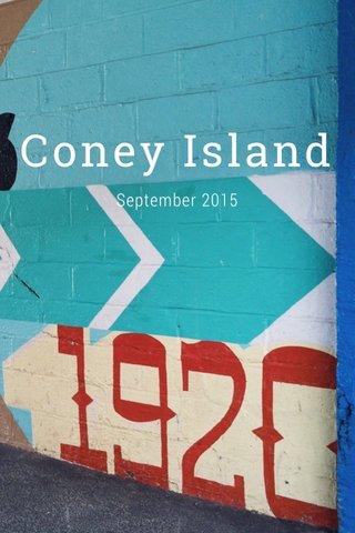 Coney Island September 2015
