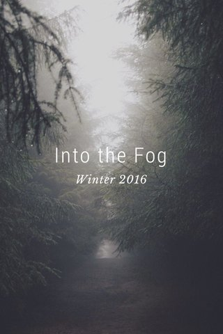 Into the Fog Winter 2016