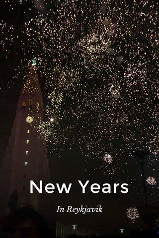 New Years In Reykjavik