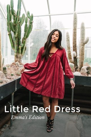Little Red Dress Emma's Edition