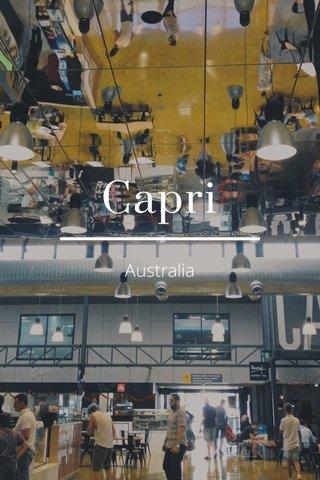 Capri Australia