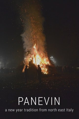 PANEVIN a new year tradition from north east Italy