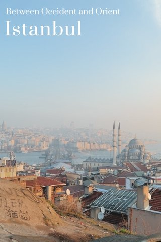 Istanbul Between Occident and Orient