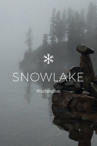 SNOWLAKE Washington