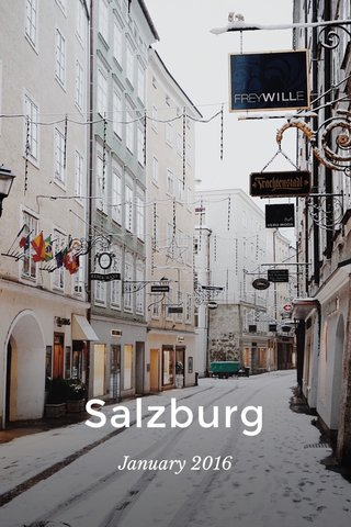 Salzburg January 2016