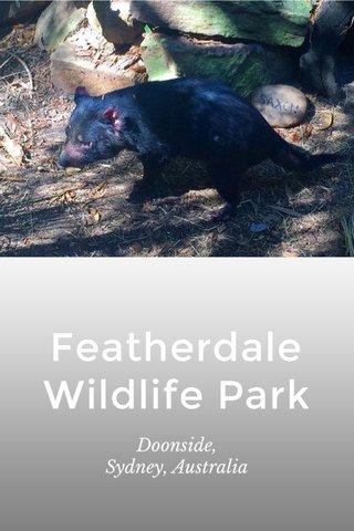 Featherdale Wildlife Park Doonside, Sydney, Australia