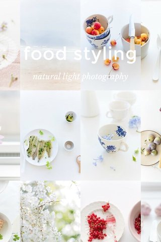 food styling natural light photography