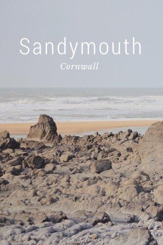 Sandymouth Cornwall