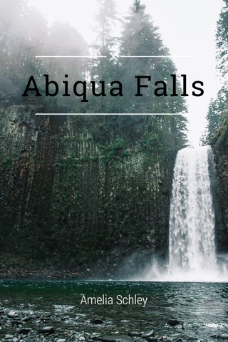 Abiqua Falls Amelia Schley