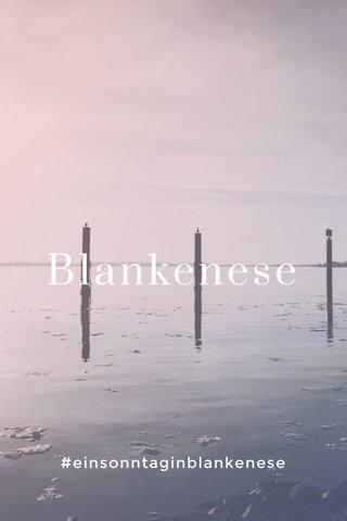Blankenese #einsonntaginblankenese
