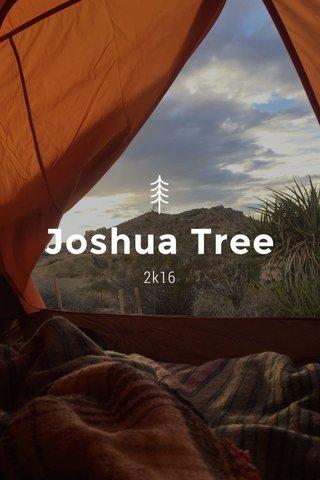 Joshua Tree 2k16