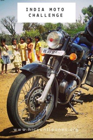 INDIA MOTO CHALLENGE www.hicsuntleones.org