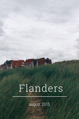 Flanders august 2015