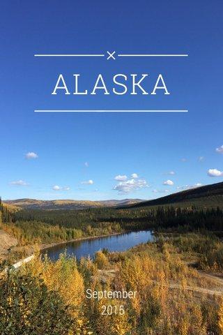 ALASKA September 2015