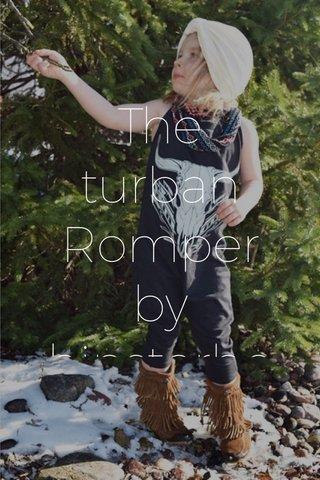 The turban Romper by hipsterbearwear