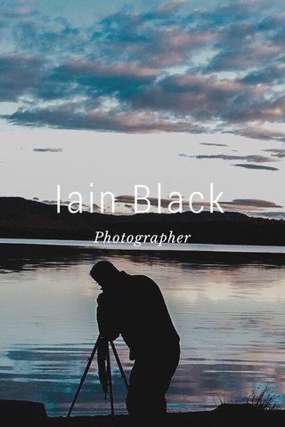 Iain Black Photographer