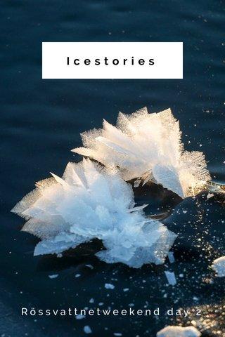 Icestories Rössvattnetweekend day 2