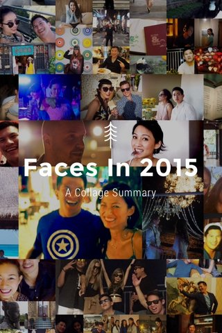 Faces In 2015 A Collage Summary
