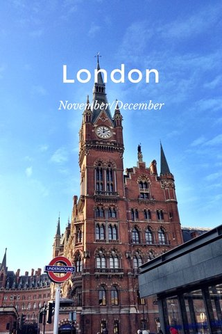 London November/December