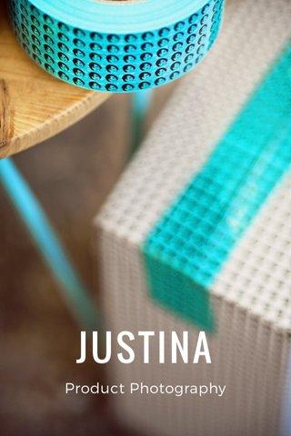 JUSTINA Product Photography