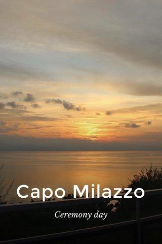 Capo Milazzo Ceremony day