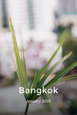 Bangkok January 2016