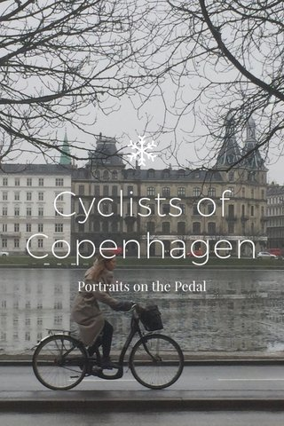 Cyclists of Copenhagen Portraits on the Pedal