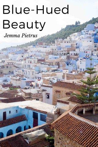 Blue-Hued Beauty Jemma Pietrus