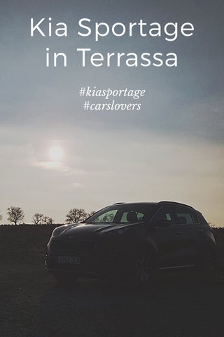 Kia Sportage in Terrassa #kiasportage #carslovers
