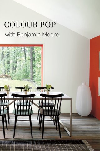 COLOUR POP with Benjamin Moore