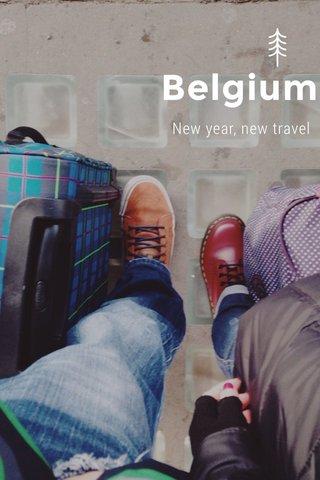 Belgium New year, new travel