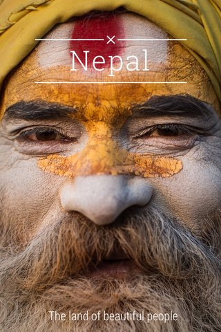 Nepal The land of beautiful people