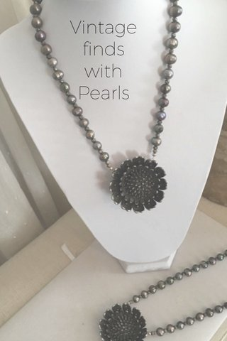 Vintage finds with Pearls