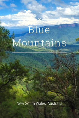 Blue Mountains New South Wales, Australia